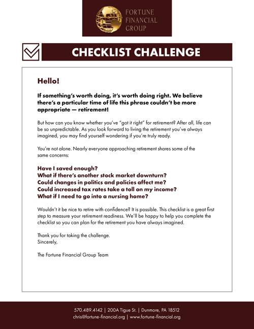 checklist-challenge